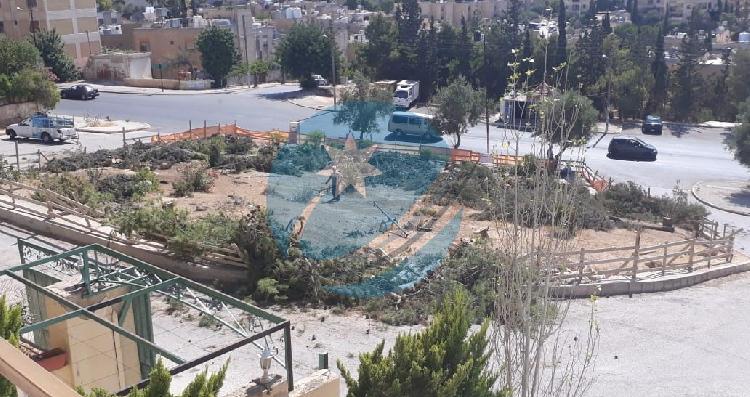 اغلاق حديقة عامة في ابو نصير