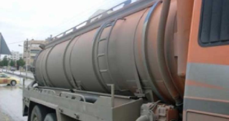 ضبط 5 صهاريج مياه عادمة باستخدام نظام التتبع الإلكتروني