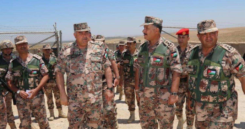 فريحات يزور واجهة المنطقة العسكرية الشمالية