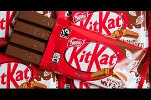خسرت شركة (نستله) مسعاها لامتلاك حق إنتاج حلوى شوكولاته في شكل أربعة أصابع