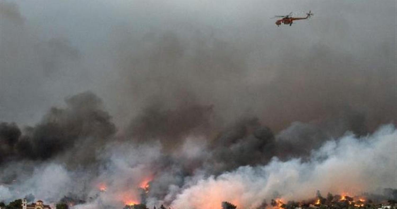 81 قتيلاً و187 جريحاً في حرائق اليونان