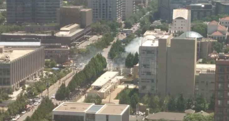 انفجار بالقرب من السفارة الأمريكية في بكين
