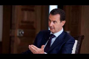 """الاسد يتوعد بـ""""تصفية الخوذ البيضاء"""" في مقابلة مع وسائل إعلام روسية"""