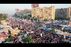 """قضت محكمة جنايات القاهرة """"بالإعدام على 75 من أعضاء الجماعة الإرهابية بقضية أحداث فض إعتصام رابعة العدوية"""""""