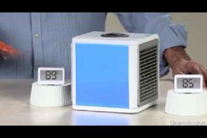 """أصبح مكيف الهواء الصيني """"اركتك إير """" أصغر مكيفات الهواء في العالم، حيث يعمل على تلطيف الهواء في الغرفة بشكل ممتاز رغم أبعاده الصغيرة."""