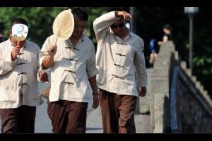 الصين تسجل أعلى درجة حرارة خلال 67 عاماً
