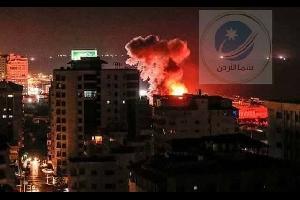 حماس تطلق 36 صاروخا تجاه إسرائيل