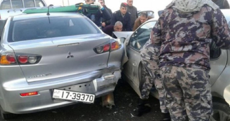 وفاة شخص إثر حادث تصادم في البلقاء