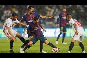برشلونة يحقق لقب السوبر الإسباني