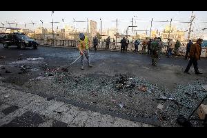 قتلى وجرحى في تفجير وسط العاصمة العراقية بغداد