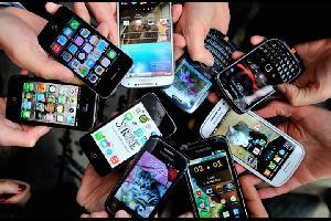 ملصقات يابانية تحذر من اخطار استخدام الهواتف الذكية