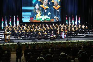 الجامعة الأميركية في مادبا، تحتفل بتخربج الفوج الرابع .