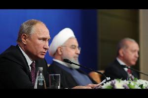 بوتين: المهم الآن طرد المسلحين من إدلب السورية