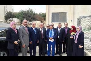 وزير التربية يقوم بزيارة مفاجئة لمدرسة اشتفينا