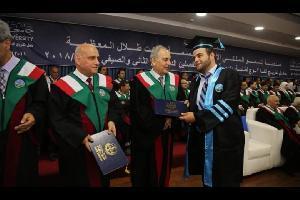 الزميل علاء الذيب.. مبروك التخرج
