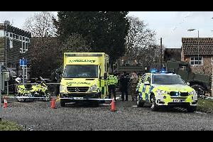 جرحى بحادثة دهس أمام مسجد في لندن