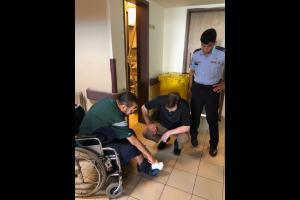 وزير الصحة يتفقد سير العمل في مستشفى البشير