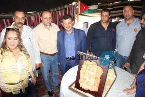 تكريم خالد الحياري من I was in petra