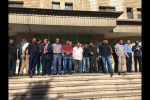 بدء اضراب شامل لموظفي المحاكم الشرعية بالمملكة.. صور