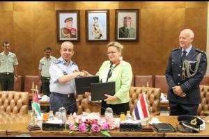 اتفاقية تعاون بين القوات المسلحة الأردنية والهولندية