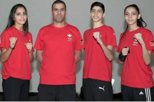 تايكوندو الشباب تطير الى الارجنتين ومعها قلوب الأردنيين