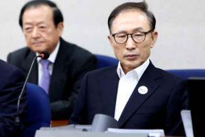 الحكم على الرئيس الكوري بالسجن 15 عاماً بتهمة الفساد
