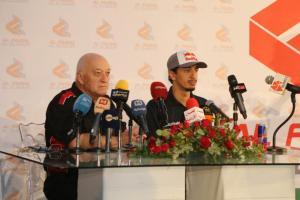 الفيصل الزُبير يُطلق برنامجه الرياضي من الأردن