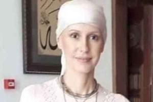 """آثار العلاج تظهر على """"أسماء الأسد"""".. صور"""