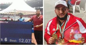 ميدالية ذهبية للأردن في دورة الالعاب الباراولمبية