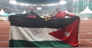 ميدالية فضية للأردن بدورة الألعاب البارالمبية