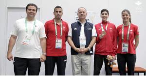 ولادة بطل اولمبي جديد في التايكوندو الأردنية
