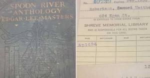 اعادة كتاب بعد 84 عاما من استعارته