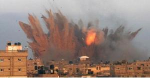 استشهاد شاب فلسطيني بغارات للاحتلال على غزة