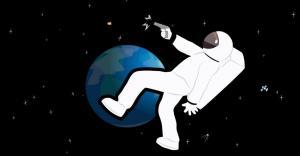 ماذا سيحدث لو أطلقت رصاصة في الفضاء؟