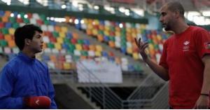 حماد يحقق فوزه الأول في أولمبياد الشباب