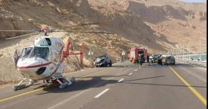 مصرع (8) صهاينة في حادث سير قرب البحر الميت في الأراضي المحتلة