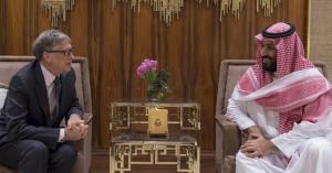 """""""بيل غيتس"""" يوقف التعاون مع """"محمد بن سلمان"""""""