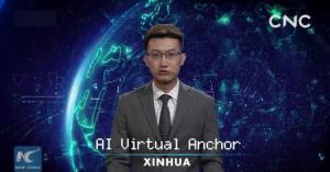 مذيع اصطناعي لقراءة الأخبار في الصين