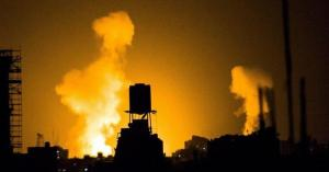 طائرات الاحتلال تقصف جنوب غزة
