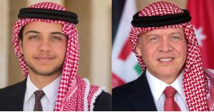 الملك وولي العهد يتلقيان برقيات بذكرى ميلاد الحسين