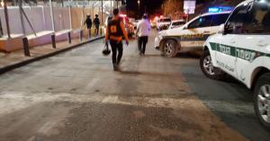 إصابة شرطيين في عملية طعن بالقدس..وتحييد المنفذ
