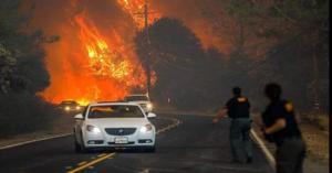 600 مفقود في كاليفورنيا