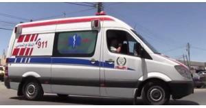 3 اصابات بحادث تدهور على طريق عنجرة راجب