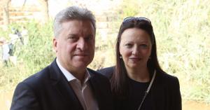 الرئيس المقدوني يزور المغطس