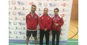 ثلاث ميداليات لمنتخب الريشة ببطولة بتسوانا