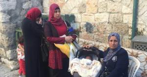 الإحتلال يخلي عائلة من منزلها في حي سلوان بالقدس