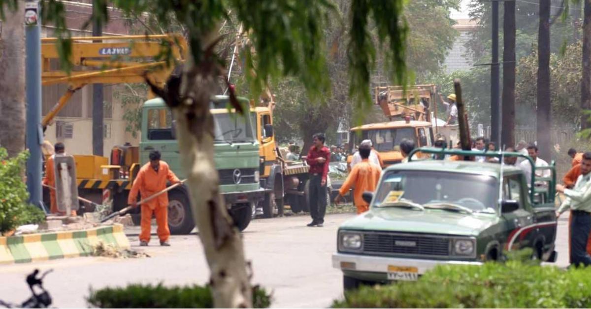 تفجير مقر شرطة في إيران