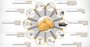 استخدامات مدهشة للبطاطس في المنزل