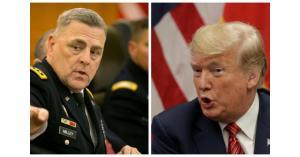 ترامب يعين الجنرال ميلي رئيسا لهيئة الأركان المشتركة