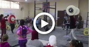 نادي اليرموك البقعة.. مصنع أبطال العالم لرفع الأثقال (فيديو)